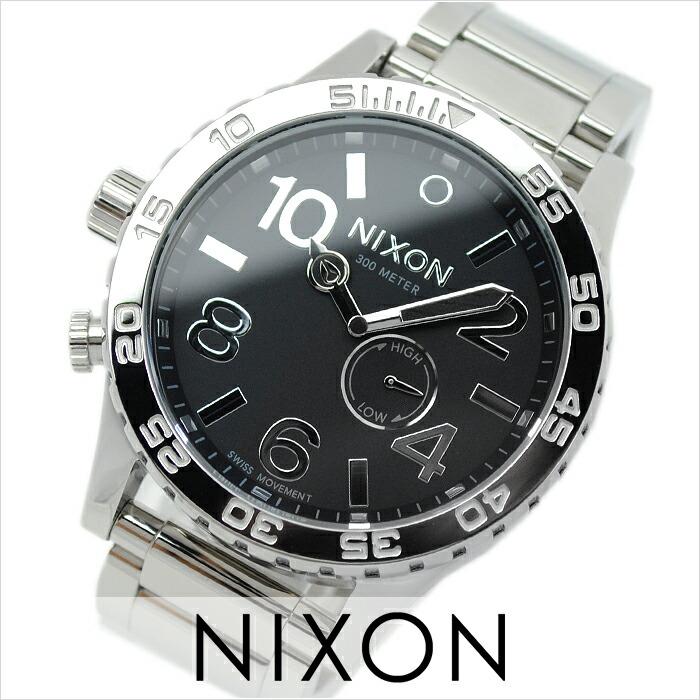 ニクソン THE51-30 ハイポリッシュブラック A057-487 メンズ