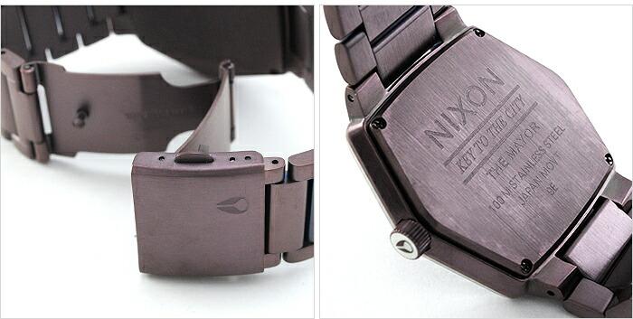 ニクソン メイヤー ALLBROWN/BROWN A018-471 メンズ