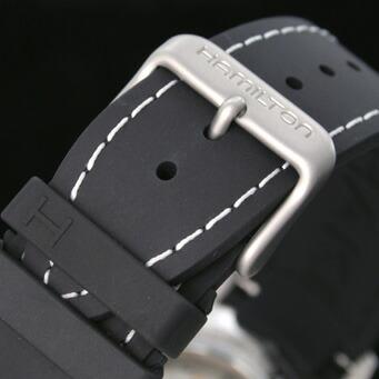ハミルトン カーキ ネイビーGMT H77615333 メンズ