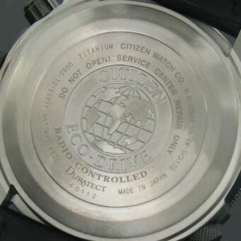 シチズン プロマスター クロノグラフ パイロット ソーラー電波 PMV65-2272 メンズ