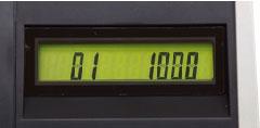 キャッシャー側表示器のイメージ図
