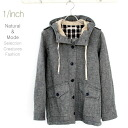 Check & software cotton boiling twill food jacket Check & Software cotton voile twill jacket with a hood
