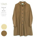 (Made in Japan) and ミセスファッション translation ショールカラーピンタックナイロンワッシャースプリングコートワンピ (Mori girl dress) natural fashion, sale outlet loose large size Mrs 10P28oct13fs3gm
