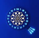 "Darts ""shine ( glowing ) dartboard darts» DART set game maker at ハードダ-s set shine-33"