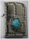 zippo writer Zippo metal NM2-TQ (turquoise) inside carved seal possible Zippo writer Zippo