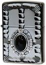 ZIPPO zippo lighter Onyx stone ( Zippo ) lighter metal sculpture popular native metal NM3-BKON (Zippo lighter inner engraving allowed)