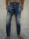 "DSQUARED2 ( dsquared ) biker Jeans ""COMFORT DENIM"" and ""FADED BIG RED WASH"" and ""tight silhouette"" ★"