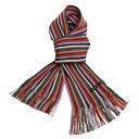 Matsui knit motor Museum-knit scarf adult purple