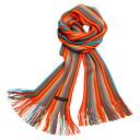 Matsui knit motor Museum-knit scarf adult for Red