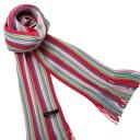 Matsui knit motor Museum-knit scarf (Pink)
