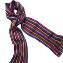 Matsui knit motor Museum-knit scarf (purple)