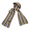 Matsui knit motor Museum-knit scarf / purple