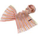 100% of Matsui knit Giken cashmere zigzag muffler
