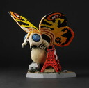 PVC figure Super deformed the first Mothra (no garage kits, unfinished painting)