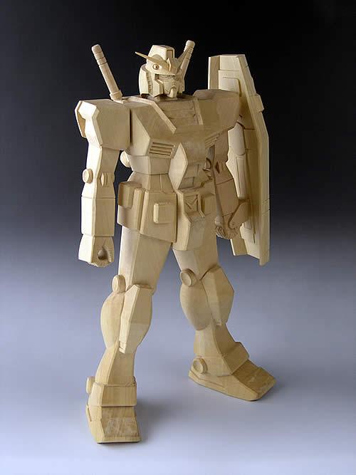 木製ガンダム / M-ARTS