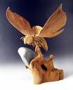 Wood carving Mothra 2003 Tokyo SOS/M-ARTS