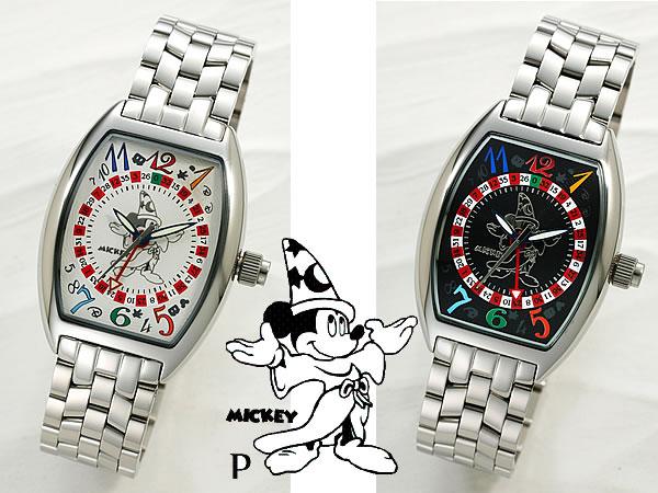 ミッキーマウス ファンタジア上映66周年記念時計