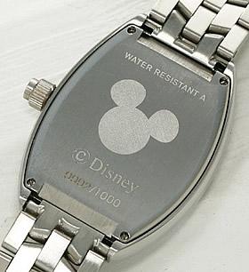 ミッキーマウス ファンタジア上映66周年記念時計 ブラック裏蓋