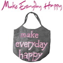Make Everyday Happy CABAS PLAYA hippopotamus playa big tote bag purple 0413h