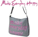 Make Everyday Happy LA BESACE la canvas grey / lilac