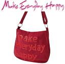 Make Everyday Happy LA BESACE la canvas red wine