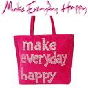 Make Everyday Happy LE for CABAS Le Hippo Tote Fuchsia