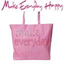 Make Everyday Happy LE CABAS ル hippopotamus Thoth pink