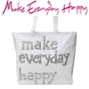 Make Everyday Happy LE CABAS ル hippopotamus Thoth white / silver