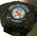 TEDMAN's todman flight jacket TMA-260 black and TED COMPANY