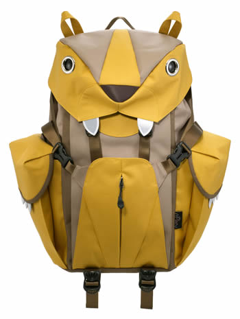 Mohn creation BC-101 big cat backpack L mustard list