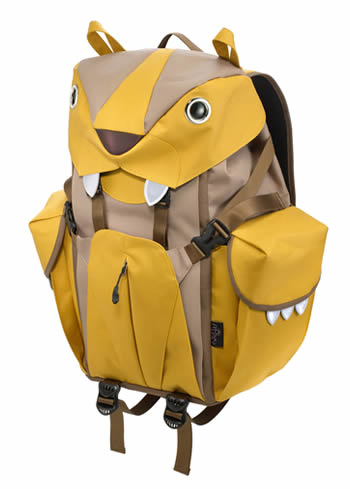 The Mohn creation BC-101 big cat backpack L mustard side