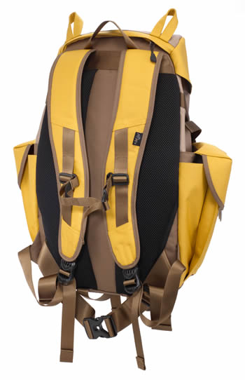 The Mohn creation BC-101 big cat backpack L mustard back