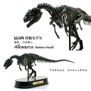 Maki dinosaur figure FDS605/BR Allosaurus and skeleton (skeleton) model (70105)