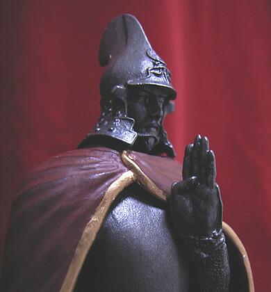 ART OF WAR ヒストリカルフィギュア 織田信長 謀略 八上城の章2 マント彩色