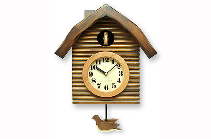Monomania rakuten global market handmade steel pendulum cuckoo clock antique brown 650 br - Cuckoo clock pendulum ...