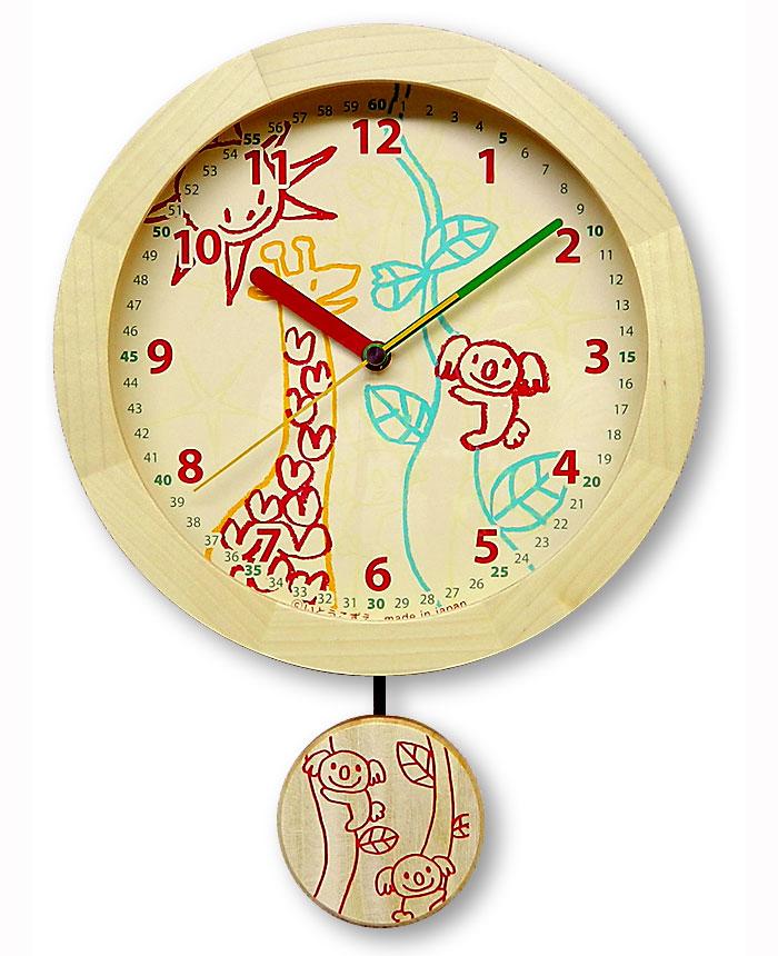 居家床品收纳 钟表 布谷鸟钟 商品详细信息   手工制作儿童摆看长颈鹿
