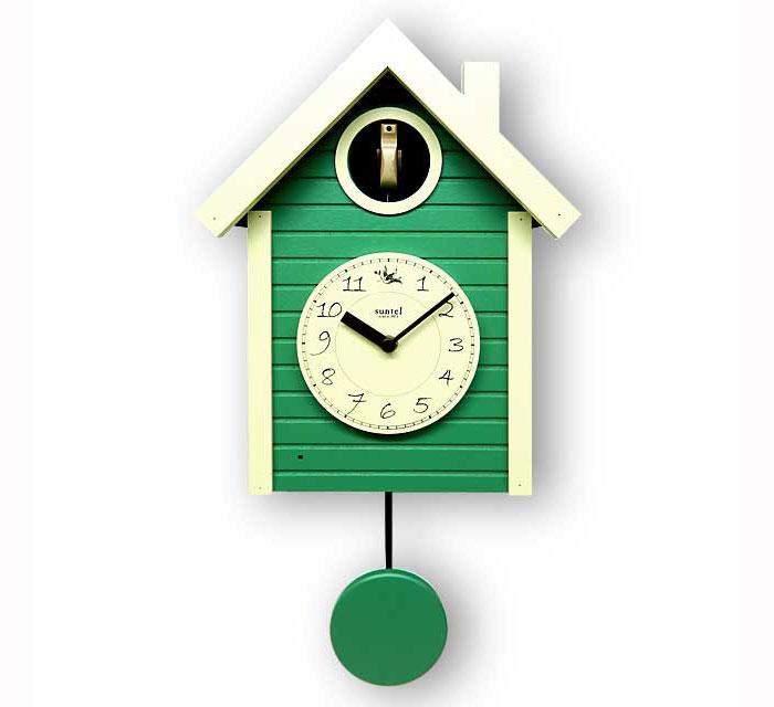 Monomania rakuten global market made japan hand made cuckoo clock green pendulum 694 gr ql - Coo coo clock pendulum ...