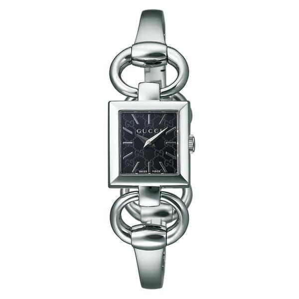 グッチ 腕時計 GUCCI 時計 レディース トルナヴォーニ スクエア / ブラック