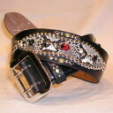 SD-B50-01-black - studs belt 50-01-SDB5001-BUFFSNINE( buffs nine)