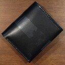 C15AN- black -C15AN folio wallet - attire of a black bird costume (CROW:) Crowe) -Half wallet (a short wallet:) Folio wallet)