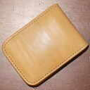 CS - SD saddle leather - attire of a black bird costume (CROW:) Crowe) -Half wallet (a short wallet:) Folio wallet)