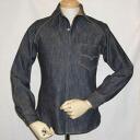 7640-40 S denim shirt - DELUXEWARE-デラックスウエア denim shirt