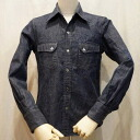DUDE DENIM-30 s デュードデニムシャツ - DUDEDENIM-DELUXEWARE-Deluxe clothing shirt long sleeve, Deluxe wear shirt-DALEE'S-dancers shirt long sleeves