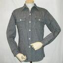 HV-01 - Hickory - Hickory shirt-HV01-DELUXEWARE-デラックスウエアヒッコリーヘビーネル t-shirt