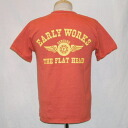 THC-66W-light red-EARLYWORKS-THC66W-FLATHEAD-flat head T-shirt