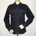 7010 W-デニムワーク shirt-FLATHEAD-flat head denim shirt