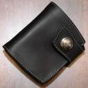 ハーフウォレット NHR-01AEB-ニューホースライディングオリジナルコインエンボス cutting-NHR01AEB-REDMOON (Red Moon) ( short wallet: 2 fold wallet)