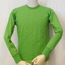 SJSLT-SLM-green - Samurai jeans long sleeve T shirt solid-SJSLTSLM-SAMURAIJEANS-サムライジーンズロングスリーブ T shirts - Samurai jeans long sleeve T shirt