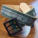 A 107HS-ブライドルレザーステッチ belt - SAMURAIJEANS-Samurai jeans belt