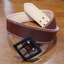 A 110HS-ダブルピンステッチ belt - SAMURAIJEANS-Samurai jeans belt